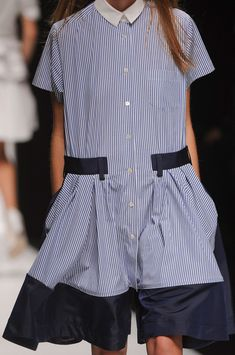 Sacai at Paris Fashion Week Spring 2013