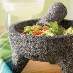 Molcajete- always a staple in the kitchen