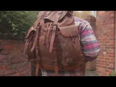 Vintage Rucksack - Waxed Canvas Army Backpack - Tan | Buffalo Jackson