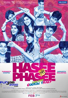 Check out Interviews with Parineeti Chopra, Sidharth Malhotra and Vinil Mathew on Hasee Toh Phasee
