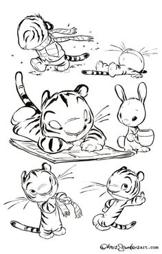by Chris Sanders © ✤ || CHARACTER DESIGN REFERENCES |