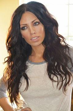 Beach waves for long thick hair #hairstylesforthickhair