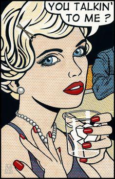 Malcom Smith Bd Pop Art, Pop Art Girl, Comic Books Art, Comic Art, Book Art, Vintage Pop Art, Retro Art, Pop Art Illustration, Illustrations