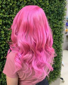 Hair Dye - Good Hair Care Made Easy Through These Simple Tips Bright Pink Hair, Hot Pink Hair, Pink Hair Dye, Hair Color Pink, Hair Dye Colors, Dye My Hair, Cool Hair Color, Bright Colored Hair, Crazy Colour Hair Dye
