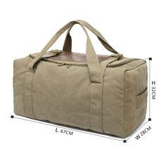 07c5aa38 Canvas Duffle Bag - Large camel canvas sports bag Пеший Турист, Дорожные  Сумки, Верблюды