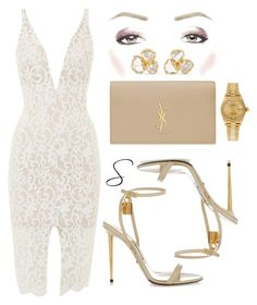 """Untitled #176"" by styledbystephxx on Polyvore featuring Bardot, Tom Ford, Yves Saint Laurent, Rolex and Pippa Small"