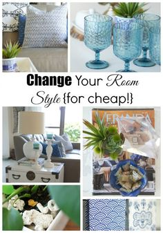 How to Change a Room Style {for cheap!} - Up to Date Interiors