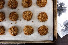 Sugar Free Healthy Muesli Anzac Cookies recipe One Perfect Mess 1