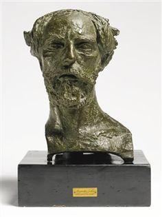 AugustusJohn by Sir Jacob Epstein, 1916