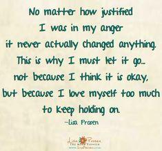 Let go of anger quote via www.MyRenewedMind.org