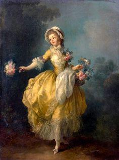 Jean-Frédéric Schall, Jeune femme à la robe jaune (n.d - n.d) on ArtStack #jean-frederic-schall #art