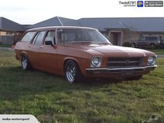Holden Hq 1974 for sale on Trade Me, New Zealand's auction and classifieds website Holden Wagon, Hq Holden, Australian Muscle Cars, Aussie Muscle Cars, Holden Kingswood, Holden Australia, Wagon Cars, Van Car, Station Wagon