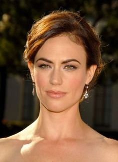 Maggie Siff from SOA | She has such soulful eyes...and who else can pull off a furrowed brow like she can?