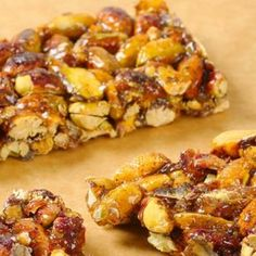 These honey nuts bars have so much flavor and are a great healthy snack.