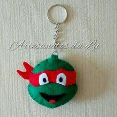 Chaveiro Tartarugas Ninja