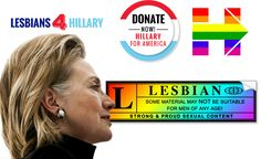 Hillary received a resounding endorsement from the lesbian community.