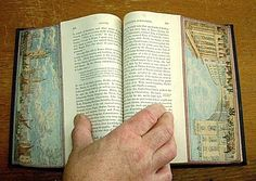 Fore-Edge Painting Transforms the Edges of Books Into Works of Art