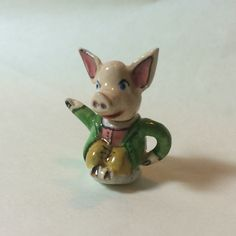 1/12th scale novelty pig teapot.
