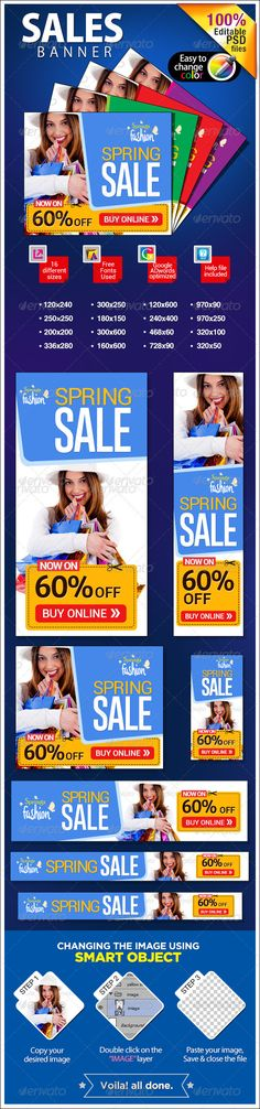 Spring Sale Web Banners Template PSD | Buy and Download: http://graphicriver.net/item/spring-sale-banners/7079039?WT.ac=category_thumb&WT.z_author=BannerDesignCo&ref=ksioks