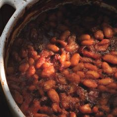 Bacon-Simmered Pinto Beans Recipe - Bon Appétit