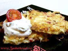 Japanische Pizza: Rezept für Okonomiyaki - europäisierte japanische Gemüsepfannkuchen.