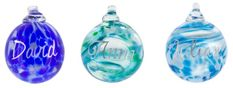 """"""" Are you not good at presents?"""" """"Well why not give you loved a personlised bauble 💑💙"""". Glass Christmas Baubles, Christmas Bulbs, Angel Sculpture, Aqua Glass, Handmade Christmas Gifts, Hanging Hearts, Online Gifts, Personalized Gifts, Glass Art"""