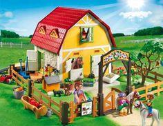 PLAYMOBIL® 5222 Children`s Pony Farm NEW - S&H FREE WORLDWIDE