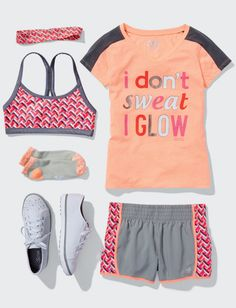 Girls Colorblock Vneck Active | Shop Justice