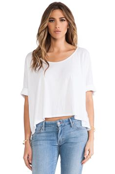 291 Boxy Cropped Tee $67