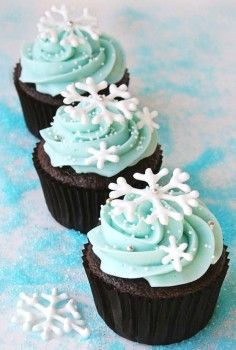 snow cupcakes for 2013 christmas party, 2013 christmas food ideas, design christmas food