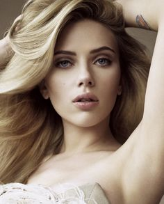 Scarlett Johansson is seriously the most beautiful