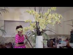 Flowers & Floristry Tutorial: Simple Tropical Flower Arranging - YouTube
