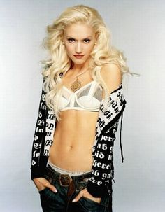 Gwen Stefani Thinks YOU Have N. is listed (or ranked) 3 on the list The 28 Hottest Gwen Stefani Photos Gwen Stefani No Doubt, Gwen Stefani Style, Gwen Stefani Body, Young Gwen Stefani, Gorgeous Women, Beautiful People, Pretty People, Heavy Metal, Fit Women