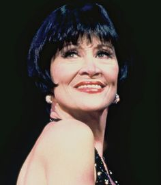 Chita Rivera-did a show at Harris Center celebrating her 80th birthday.  I could NOT believe she was 80!