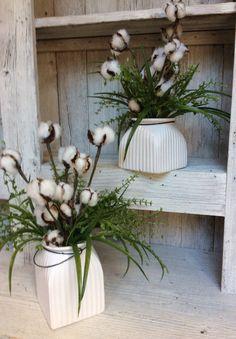 Mercado de algodón Arrangment Floral estilo superior Fixer