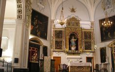 Valencia Retablo de la iglesia de la Asunción en Andilla,
