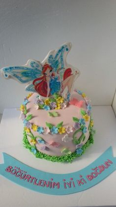 Winx Cake  Fondant cake