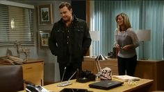 Jason is with Carly in Kevin's office. She shows him a cell phone that she found in his bag with only a series of missed calls from an unknown number. He doesn't recognize it, but he starts to flash back to the night in the PH when Helena called him. He can't remember anything more and when Carly leaves to find Kevin, Helena calls. When Carly returns, he has already left and gone to meet Helena at the cemetery.  CREDIT: GH Family HD