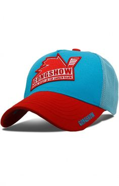 Here is a classic design on a lid that you can rock anywhere at any time. We've been at this for a long time now and have come a long way but we never forget where we came from. This bucket is a reminder of that. Gongshow Hockey, Lifestyle Clothing, Red And Blue, Baseball Hats, Classic, Forget, Bucket, Rock, Design
