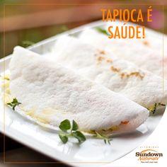 Saborosa e saudável, a tapioca está presente no prato dos brasileiros e pode ser uma ótima alternativa para quem quer diminuir o consumo de pães, pois não contém gordura e glúten. Que tal preparar aquela tapioca gostosa? #Tapioca #Dieta #VitaminasSundownNaturals