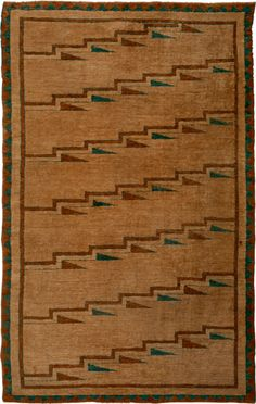 Africa | Knotted Carpet from the Tutsi or Hutu of Rwanda or Burundi | 2nd quarter 20th century | Sisal, Asymmetric knots (also known as the Persian knot)