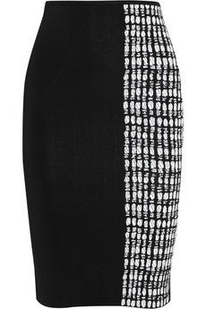 Roland Mouret Poplar stretch-knit pencil skirt | THE OUTNET