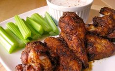 Baked Buffalo-Style Hot Wings