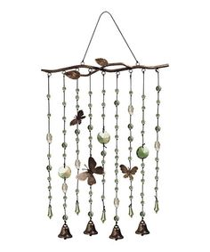 Take a look at this Butterfly Wind Chime by Grasslands Road on #zulily today!