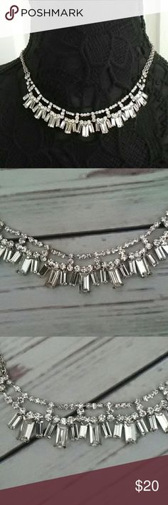 """Cristabelle Sparkly Crystal Choker Necklace New with Tags Cristabelle Nordstrom Crystal Choker Necklace.  Almost 16"""" including clasp and has a 3"""" extender.  Reasonable offers considered,  No trades cristabelle Jewelry Necklaces"""