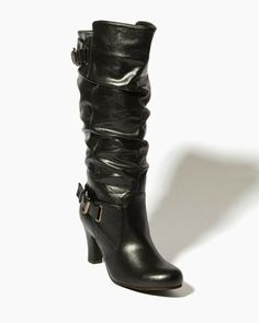 SO. These are $39 and OUT OF STOCK. That's probably a good thing... Electra Heeled Boots | Boots | charming charlie