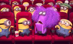 Kino befüllt mit Minions
