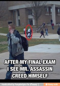 Mr. Assassin's Creed......what a name.
