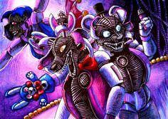Circus of the night / FNaF SL by Mizuki-T-A.deviantart.com on @DeviantArt