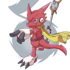 Digimon Xros Wars Shoutmon
